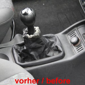 Botão da engrenagem Opel Corsa C