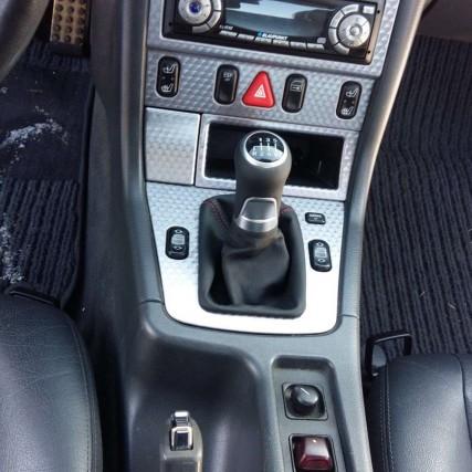 Schaltknauf Schaltsack SLK-R170 Facelift leder schaltmanschette